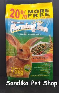 Makanan Kelinci / Rabbit Food MORNING SUN CARROT 1.2 KG