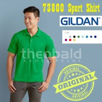 Kaos Polo Shirt Gildan 73800 Sport Shirt Original