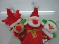 Hiasan Natal Boneka Kaos Kaki Santa Snowman Rudolph Christmas