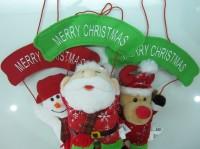 Boneka Natal Gantung Santa Snowman Rudolf Deer Christmas