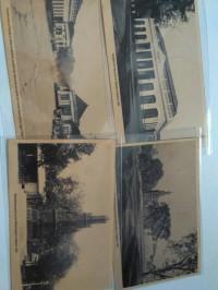 kartu pos bergambar Bangunan Jakarta betawi Batavia jadul Seri 5