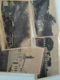 kartu pos bergambar Bangunan trem monumen batavia betawi jadul