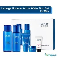 [sarogayo] READY STOCK Laneige Homme Active Water Duo Box Set for Men