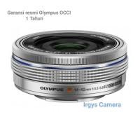 Olympus Lens 14-42mm EZ Silver F3.5-5.6 M.Zuiko Digital ED (Open Box)