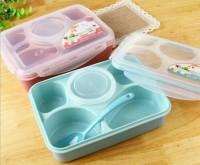 Lunch box sekat yooyee / Tempat bekal anak anti tumpah / kotak makan