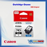 Cartridge Canon PG-745 Black Small NEW Original - Catridge PG745 Hitam