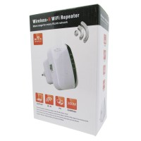 Penguat Sinyal WIFI KexTech Wireless-N WiFi Repeater 300Mbps - WL0189