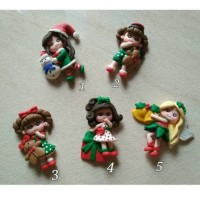 Clay Doll Christmas Series
