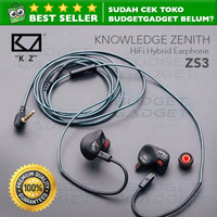 Knowledge Zenith Sport Earphone Headset with Microphone - KZ-ZS3