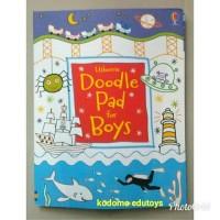 Usborne Doodle Pad for Boys,Buku Import Aktifitas Anak,Activity Book