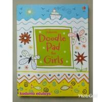 Usborne Doodle Pad for Girls,Buku Import Aktifitas Anak,Activity Book