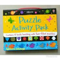 Usborne Puzzle Activity Pack,Buku Import Aktifitas Anak,Activity Book