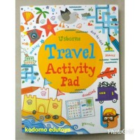Usborne Travel Activity Pad ,Buku Import Aktifitas Anak,Activity Book