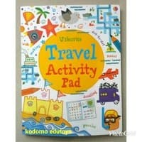 Usborne Travel Activity Pad ,Buku Import Aktifitas Anak,Activity Book