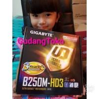 Motherboard Gigabyte B250-HD3 Motheboard -7th Gen Intel Kabylake