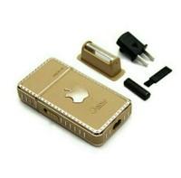Alat cukur kumis jenggot BOLI RAZOR A1 model i phone gold