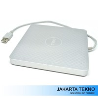 Promo Dell A13DVD01 USB 2.0 8X DVD-RW Portable Optical Drive Silver Pa