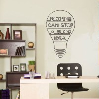 Wall Stiker Quotes Nothing Can Stop Sticker Dinding Kamar Rumah Kantor