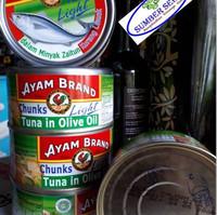 Ikan Tuna Dalam Minyak Zaitun, 185 g, Original