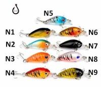 Fishing Lure 4.5cm 4.0gram Plastic Hard Lure umpan ikan pancing