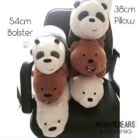 We bare bears boneka beruang panda ice bear grizz teddy bear miniso