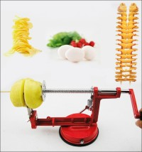 Spiral Potato Slicer / Chips / Pengiris / Pemotong Kentang Spiral