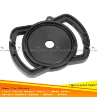 Tempat Lens Cap Holder Buckle Universal Ukuran 52mm 58mm 67mm