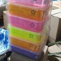 tempat makan green line lunch box anak kotak bekal multipack food 700m