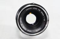 lensa manual Canon FD 50mm f 1.8 lumayan