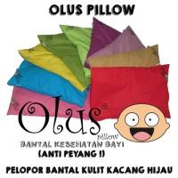 Olus Kulit Kacang Hijau Pillow Bantal Bayi Original