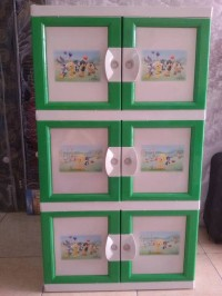 Lemari Plastik/kabinet/kontainer Sunflower 3ssn MURAH!!!
