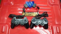 TERMURAH STIK / STICK PS2 TW HITAM BUNDLE CONVERTER 2SLOT