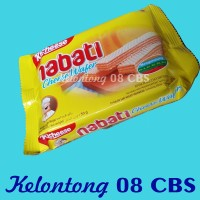 Snack Wafer Keju Richeese Nabati Per 10 Pcs @50Gr - Ecer