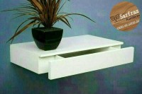 RAK DINDING DENGAN LACI / FLOATING SHELVES WITH A DRAWER / MEJA LACI