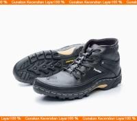 Sepatu Boot Pria/ Sepatu Boot Casual Kulit ASLI Model Kickers BKS01TP
