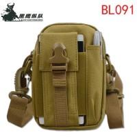 Tas Pinggang Tactical Army Plus Tali Strap Selempang Multifungsi