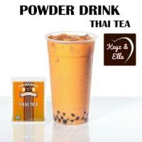 Powder Drink / Bubuk Minuman Thai Tea Keyz and Elle 20gr ( No Sugar)