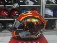 Helm MDS Provent Motif Avenger Iron Man Murah