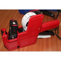 Single Row Price Labeller Machine Coding MX-5500 Alat Label Harga Red