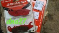 discpad / kampas rem depan racing boy honda VARIO 110