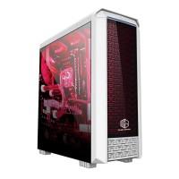 Casing PC CPU CUBE GAMING FIORAN - Acrylic Window / RGB List Bar