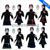 Baju Renang Anak Muslimah Muslim Wanita Perempuan Polos