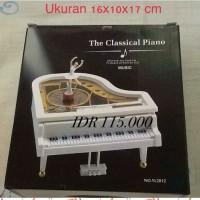 Kotak Musik Piano Ballerina