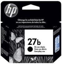 Tinta HP ink cartridge 27 simple Black (27b) Original