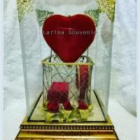 Tempat mahar perhiasan set love