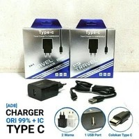 Travel Charger HP Type-C Xiaomi Asus Samsung Universal SmartPhone