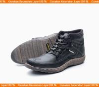 Boot Pria/ Boot Casual/ Sepatu Boot Kulit Model Kickers BKS01