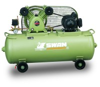 SWAN AIR COMPRESSOR (S SERIES) SVP-201, KOMPRESOR ANGIN 1 HP ORIGINAL