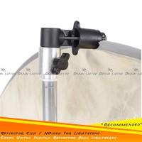 Reflector Clip Disk Holder Penjepit Untuk Lightstand Lighting Studio