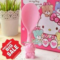 (SALE) Centong Entong Sendok Nasi Rice Spoon Hello Kitty Berdiri